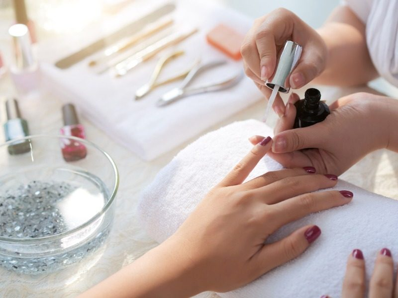 manicure-process-picture-id838483760